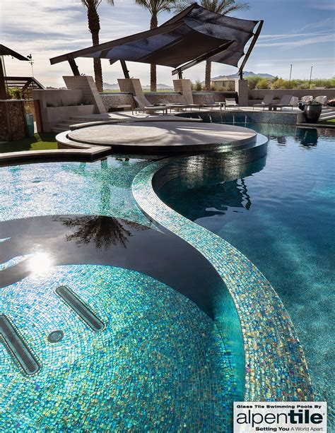 swimming pools in small spaces alpentile glass tile lightwaves national pool tile group clipgoo