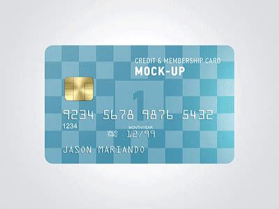 Credit Card Mockup Template Credit Card Mockup By Ayashi Dribbble