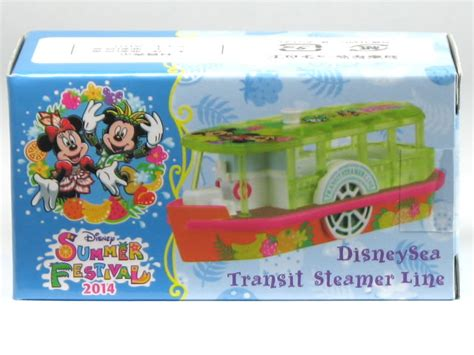 Tomica Disney Resort Disney Sea Transit Steamer Line car hobby shop answer rakuten global market special order tomica tokyo disney resort summer