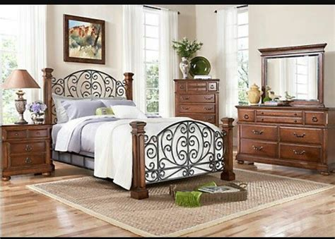 rooms to go beds for charleston bed at rooms to go i the mix of wrought iron and wood home furnishings