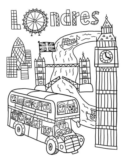 voyage en coloriage 3 les villes fred sochard illustration