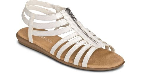 aerosoles gladiator sandals aerosoles clothesline faux leather gladiator sandals in