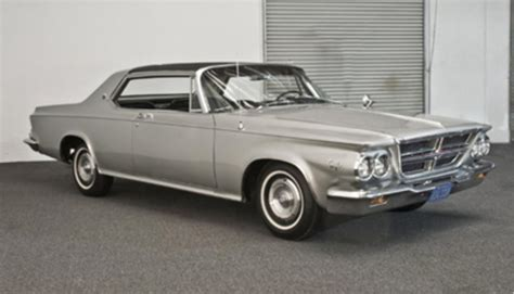 1964 chrysler 300k silver series sport coupe