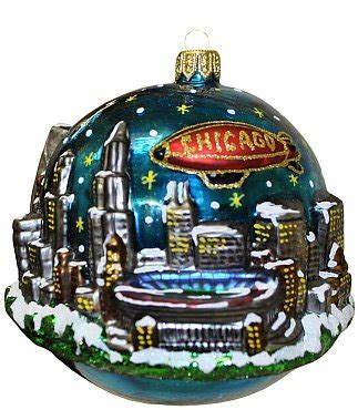 city of chicago ornaments christmas ornament shop