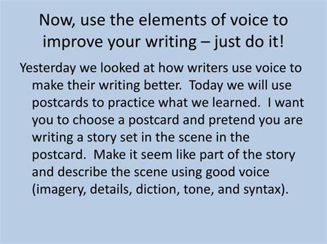 improv e using improv to find your voice style and self books ppt writing with voice powerpoint presentation id 3000562
