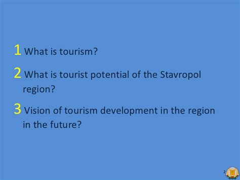 diploma thesis advisor tourism industry in stavropol region