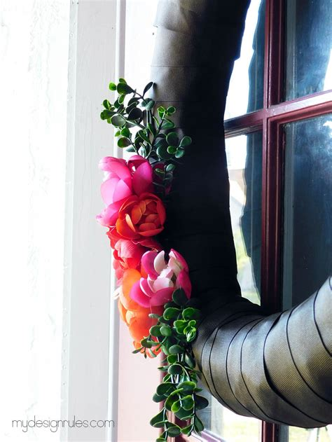stunning spring wreath  design rules