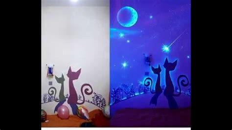 15 glow in the wall murals