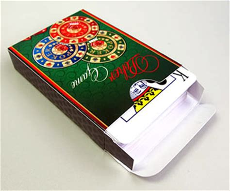 custom deck box for cards template custom casino cards printing