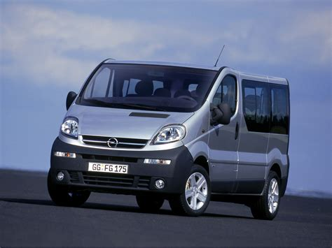 2007 Opel Vivaro Ii Pictures Information And Specs