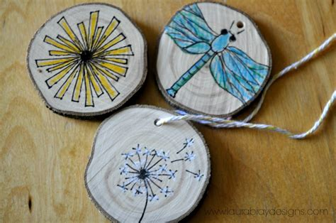 Handmade Wooden Ornaments - wood ornaments k bray designs
