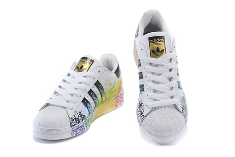 adidas originals superstar unisex casual shoes white color inkjet shoesimart