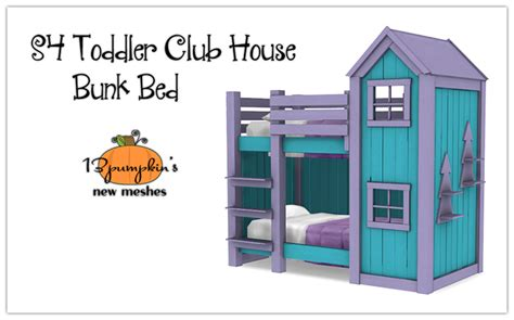Rocking Couch Chair My Sims 4 Blog Clubhouse Bunk Bed And Shelf For Toddlers