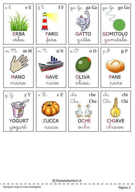 lettere per bambini the gallery for gt alfabeto italiano per bambini
