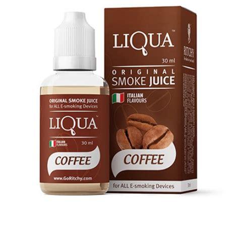 liqua e liquid coffee flavor