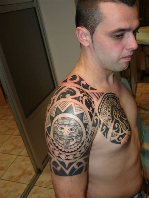 shoulder to chest tattoo designs amazing new international technologies worldwide