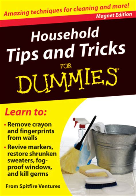 household tips  tricks  dummies independent
