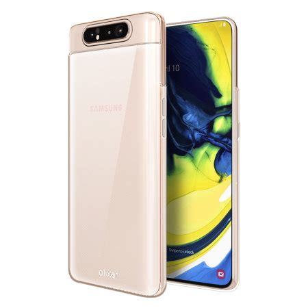 Samsung Galaxy A80 Mobile by Olixar Flexishield Samsung Galaxy A80 Clear