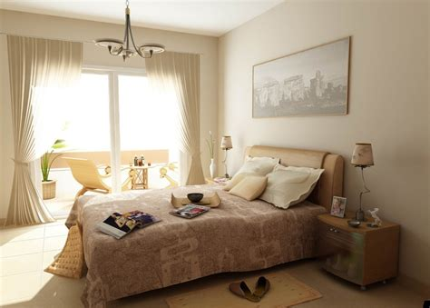 interesting natural colors bedroom design ideas