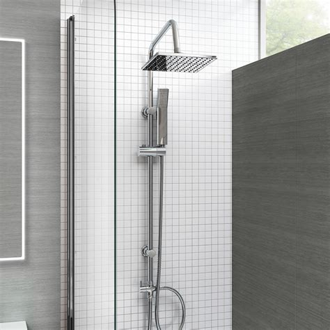 square bath shower bath shower mixer thermostatic valve tap dual square
