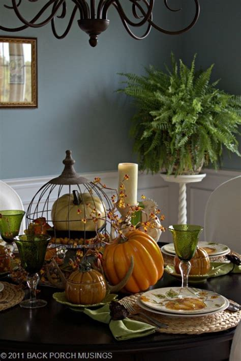 cool fall decorating ideas 81 cool fall table decorating ideas shelterness