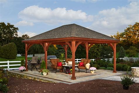 how to build a backyard pavilion outdoor pavilion plans that offer a pleasant relaxing time