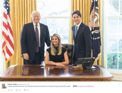 trump in the oval office ivanka trump comes under fire for twitter photo showing