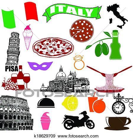 italia clipart clipart italie traditionnel italien symboles