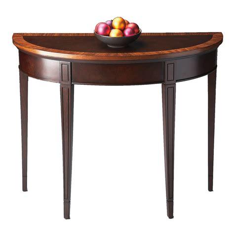 half round sofa table shop butler specialty masterpiece cherry nouveau half