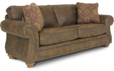 rustic sleeper sofa laramie brown queen sized sleeper sofa rustic sofas