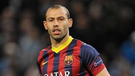 barcelona pemain mascherano tak jadi bertahan menjadi pemain barcelona