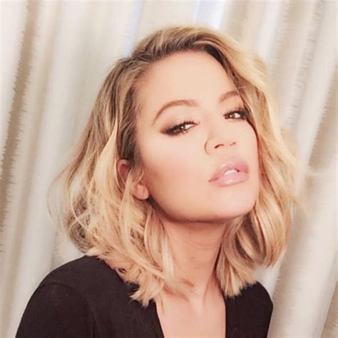 khloekardashian new hairstyle new hair alert khloe kardashian serves hotness with her