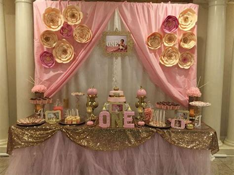 gold themes party wedding theme pink gold birthday party ideas 2411518