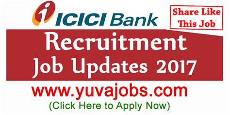 In Icici Bank For Mba Freshers by Icici Bank Recruitment 2018 For Po Clerk In Icici Bank