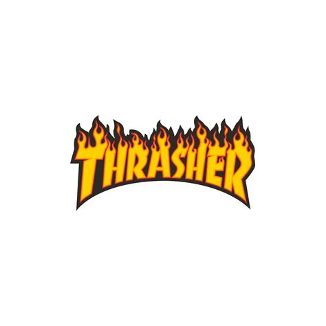 Sticker Small thrasher magazine shop logo sticker small