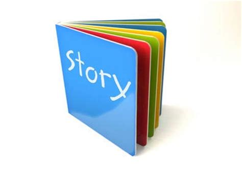 picture of a story book storybook