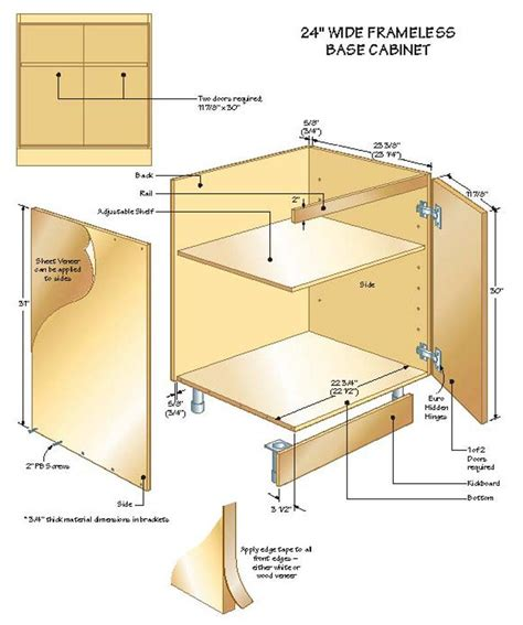 frameless kitchen cabinet plans framed vs frameless cabinet construction maison mass