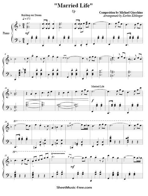 Disney Sheet Music PDF | ♪ SHEETMUSIC-FREE.COM