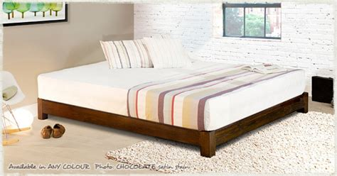 Low Bed Frames Low Platform Bed Space Saver