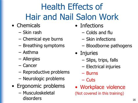 nail salon faqs skin problems center medical training developed by ppt download