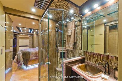 two bathroom rv ultimate luxury rv bathroom hauterv luxury roadzies haute rv s pinterest rv