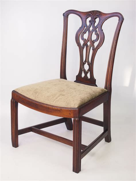 antique chippendale chairs antique georgian mahogany chippendale chair sted quot af quot