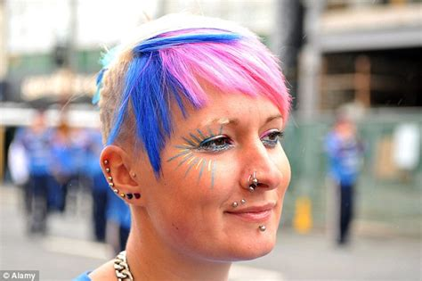 new pediatric guidance on tattoos piercings daily mail repairing flesh tunnel earlobes will cost you a whopping