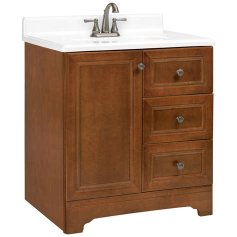 Rsi Bathroom Vanities Shop Estate By Rsi Wheaton Chestnut Traditional Bathroom