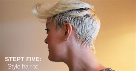step by step pixie haircut tutorial diy tutorial on how to style your pixie haircut diy