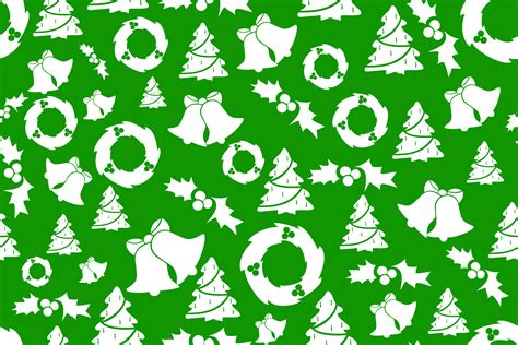 christmas pattern green green christmas background free stock photo public