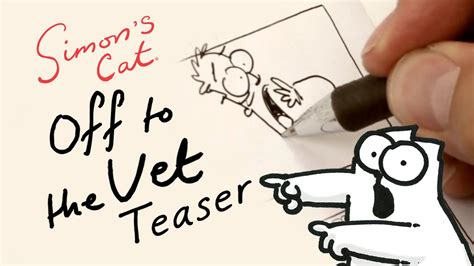 simons cat off to 1782115870 simon s cat off to the vet a behind the scenes glimpse youtube