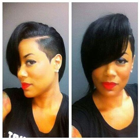 shave one sided short bobs black women photos 1315 best images about slayed bob hunty on pinterest