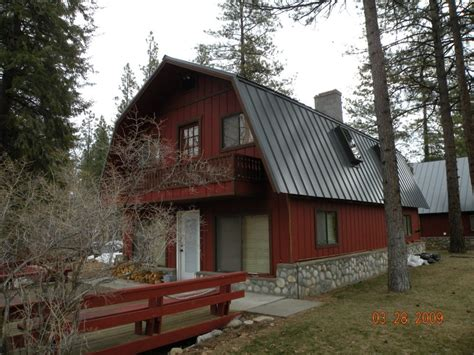 Gambrel Roof Pole Barn by Methow Valley Metal Roofing Triplet Roofing