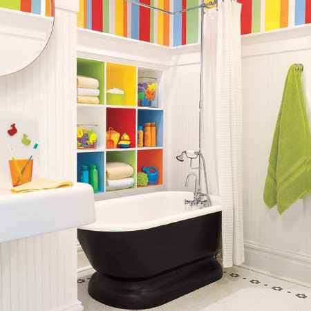 kid bathroom decorating ideas cool bathrooms designed with kids in mind terrys fabrics